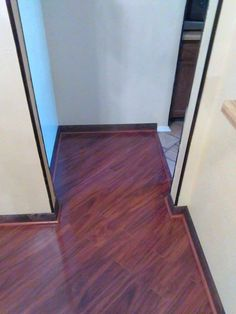 Kensington Manor laminate flooring  flows into hallway and bedrooms     Kensington Manor laminate flooring  flows into hallway and bedrooms  This  is installed in a mobile home   Laminate Flooring Information   Pinterest