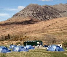 Camping on Skye for running adventures