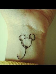 Simple Disney tattoo design. | Whatever I like | Pinterest