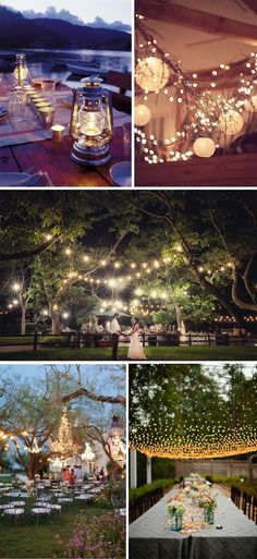 Decoracion nocturna para bodas #weddings #weddingdecor #decoracionbodas #bodas