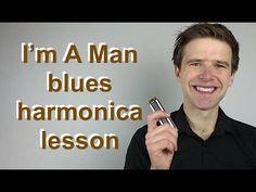 I'm a Man / Hoochie Coochie Man (Bo Diddley) harmonica lesson (Essential blues harmonica lessons) - YouTube
