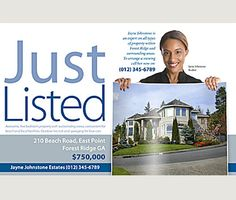 Just Listed Postcard | RE/MAX | Pinterest | Real estate