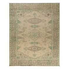 """Oushak Collection Oriental Rug, 9'8"""" x 11'10"""""""