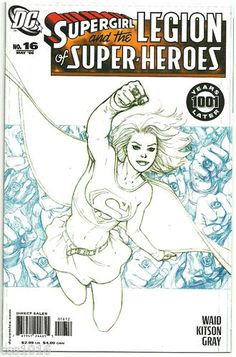 SUPERGIRL & LEGION OF SUPERHEROES #16 Ltd 1/10 VARIANT b y Barry Kitson! ~NM~ http://r.ebay.com/6ApI7W
