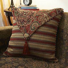 chinese style bomuld jacquard dekorative pudebetræk – DKK kr. 79