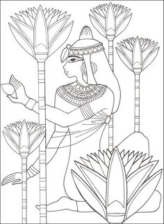 Ancient Egypt Designs for Coloring Additional photo inside page Colouring Pages, Coloring Books, Free Coloring, Ancient Egypt For Kids, Ancient Aliens, Ancient Greece, Stencil, Egypt Design, Egypt Crafts
