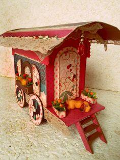 Lilicutes by Kakuseisha: Challenge Booths: Gypsy Wagon