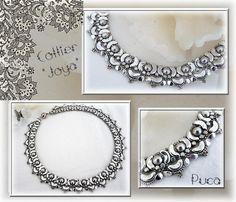 Schema Halskette Joya mit Arcos und Minos von Pucashop auf Etsy