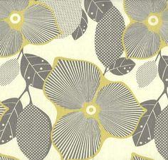 Stoff Blumen - Stoff Blumen Amy Butler - ein Designerstück von Bella-Originella bei DaWanda