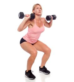 Core exercise = The Thruster