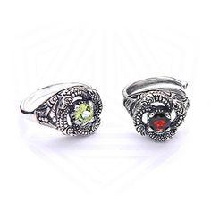 Sterling Silver Snake Earrings Dragons earrings Celtic от RuyaN