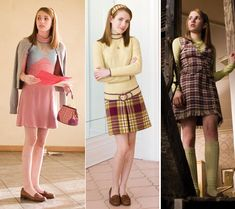Emma Roberts as Nancy Drew {2007} I especially love the last two outfits! :)