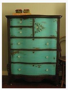 Chest of drawers redo