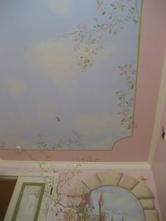Bright-Traditional-Bedroom- ... - Princess Bedroom Ceiling