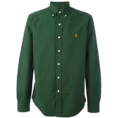 Polo Ralph Lauren Green Shirt (815 NOK) ❤ liked on Polyvore featuring men's fashion, men's clothing, men's shirts, men's casual shirts, green, mens casual button down shirts, mens green button up shirt, mens green shirt, mens green button down shirt and mens casual button up shirts