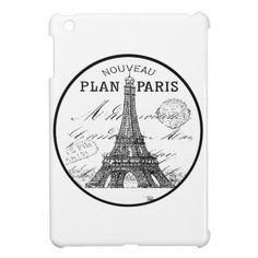 Paris Eiffel Tower iPad Mini Case