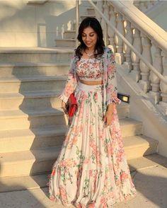 Lehenga Suit, Lehnga Dress, Gharara Pants, Saree Gown, Pink Lehenga, Indian Lehenga, Saree Blouse, Hippie Style, Wedding Lehenga Online