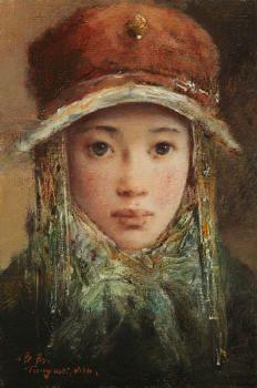 Artist: Tang Wei Min, Title: Amber Bonnet - click for larger image