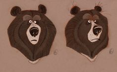 © DreamWorks Animation © Paramount Pictures by Jeremy Bernstein by Jakob Jensen by Thom Enriquez by Jakob Jensen by Nicolas Marlet by To. Bear Character, Character Drawing, Character Illustration, Character Sheet, Character Concept, Concept Art, Dreamworks Animation, Bear Art, Animal Projects