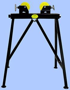 Adjustable Roller Pipe Jack Welding Stand - BJS106