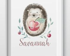 Hand-made, personalised prints, gifts, and homewares by LittleBilliBoho Personalised Prints, Woodland Animals, Etsy Seller, Boho, Creative, Handmade, Gifts, Forest Animals, Hand Made