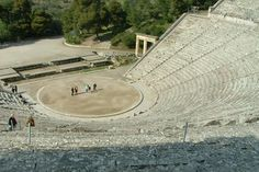 Mystery of Greek Amphitheater's Amazing Sound Finally Solved: It's in the seats! Now, researchers at the Georgia Institute of Technology have discovered that the limestone material of the seats provide a filtering effect, suppressing low frequencies of voices, thus minimizing background crowd noise. Further, the rows of limestone seats reflect high-frequencies back towards the audience, enhancing the effect...