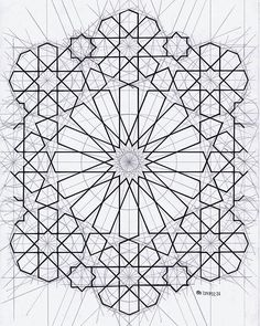 #islamicgeometry #islamicart #islamicpattern #arabiangeometry #symmetry #geometry #pattern #star #mathart #regolo54 #escher
