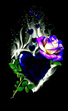 48212603 Wallpaper… By Artist Unknown… awesome pretty wallpapers Blue Roses Wallpaper, Skull Wallpaper, Flower Phone Wallpaper, Heart Wallpaper, Butterfly Wallpaper, Cute Wallpaper Backgrounds, Love Wallpaper, Pretty Wallpapers, Colorful Wallpaper
