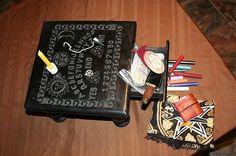 Ouija Board Spirit Board Altar Table Free Pendulum and FREE SHIPPING