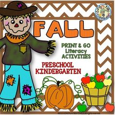Fall Print and Go *Writing *Coloring *Craft... by SING-PLAY-CREATIVELY | Teachers Pay Teachers