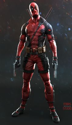 ArtStation - deadpool, by mars …More Characters here.
