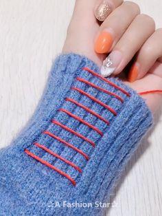 8 simple DIY sewing hacks - DIY life hacks - today we bring you . - 8 simple DIY sewing hacks – DIY life hacks – today we will bring you simple DIY skills that wil - Sewing Hacks, Sewing Tutorials, Sewing Crafts, Sewing Tips, Crochet Crafts, Sewing Ideas, Techniques Couture, Sewing Techniques, Sewing Stitches