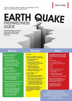 Know more about Earthquake Safety Tips   Disaster Survival Skills: Getting Ready for the Worst