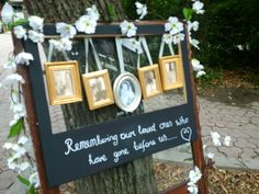 Charlotte & Spencer, remembering loved ones on their wedding day