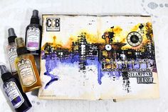 Art journal page - Steampunk yourself