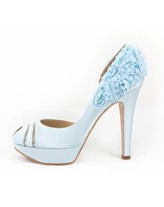 03993e34fdad0 Hey Lady Shoes Luck Be A Lady Blue Wedding Shoes photo Blue Wedding Shoes