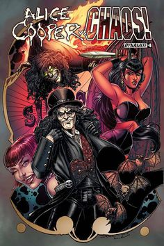 The Chosen are on the run from a monster tree, Evil Ernie and Purgatori are guinea pigs for a pharmaceutical company, and Alice Cooper is trapped in a horrific asylum by a familiar enemy! How does the