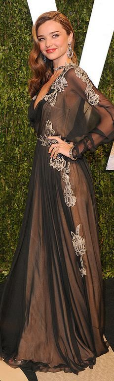 Miranda Kerr Oscar after party 2013 - Valentino