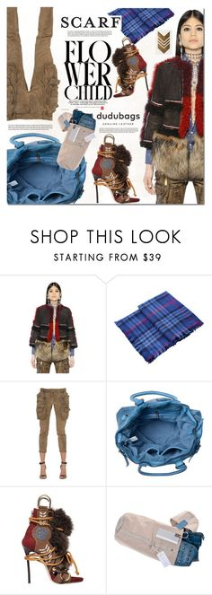 """""""Dudubags.com 4"""" by barbarela11 ❤ liked on Polyvore featuring Dsquared2, Joules, scarf, calypso and dudubags"""