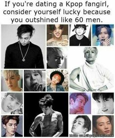 Ha but he'll be a kpop idol so... U can't be outshines by SHINee though and no one can outshine MY MINHO!!!!!!!!!