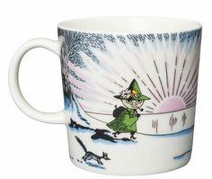 Moomin winter season mug 2017 Silver Christmas Decorations, Silver Ornaments, Christmas Mugs, Christmas Balls, Moomin Mugs, Tove Jansson, His Dark Materials, Wooden Animals, Porcelain Ceramics