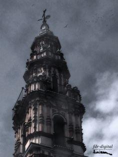 Parte suèrior de la torre de la desaparecida iglesia de Ntra. Sra. de la Victoria de Estepa