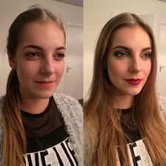#transformation of this #beauty! #makeup #visagie #passionformakeup #makeupartist brands i used: #makeupstudionl #joeblasco #kikomilano #boozyshop #makeuprevolution #freedomlondon #mac #BB #maybeline #beautiful #lady #glam #eye #picoftheday