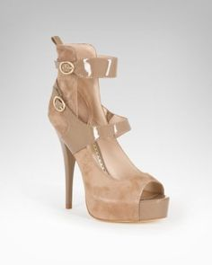 Can't ever get enough Brown/Tan SUPER high heels!