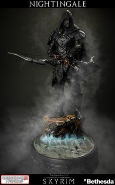 Elder Scrolls V - Skyrim: Nightingale Statue