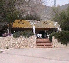 Jalon valley restaurant on the costa blanca Spain
