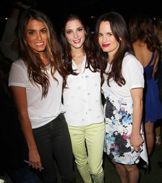 Elizabeth Reaser Ashley Greene Nikki Reed   What a difference Hair makes....