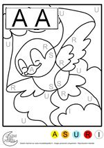 magic coloring pages for kids with alphabet color by number for adults and children pinterest math school and coloring pages