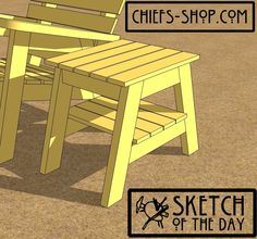 Sketch of the Day: Florida Side Table