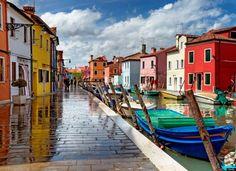 Бурано, островной квартал Венеции, Италия